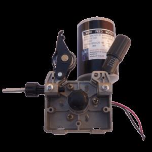 Trådfremførings konsol med motor