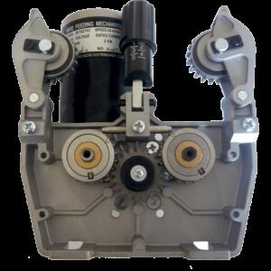 Kraftig trådfremførings motor med dobbelt træk 4/R – inkl Centraltilslutning Komplet 24V – 42V + 4 m. Unik 350 slange.