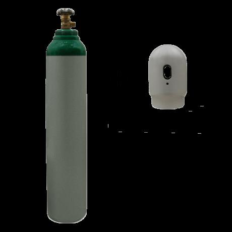 Argon – 8 liter flaske – 200 bar – Sælges som engangsflaske – Fragtfri