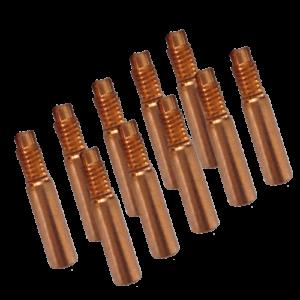 Strømdyser til ESAB – 6X30X1.0 Cu-E – 10 stk