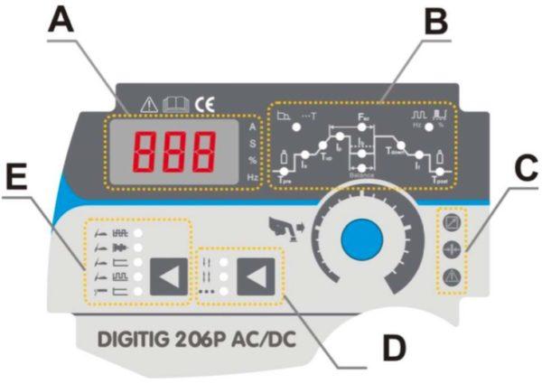 Sherman DIGITIG 206P HF AC / DC – inkl. SR 26 4 m