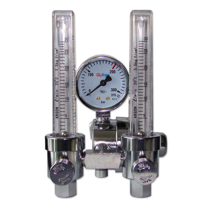 Dobbelt Flowmeter – 21,8 mm