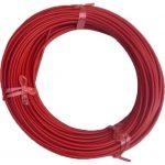 Stål Liner – Rød – 1.0-1.2 mm – 50 meter inkl. 10 stk nipler