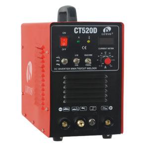 Lotos CT520D CUT TIG 3 in 1 Combo.  TIG – PLASMA – ELEKTRODE SVEJSER