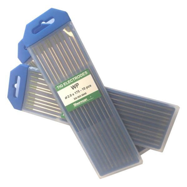 TIG Sherman Wolfram elektroder – Grøn 175mm – Ø 3.2