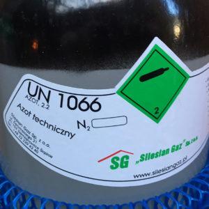 Nitrogen – 8 liter flaske – 200 bar – Sælges som engangsflaske – Fragtfri