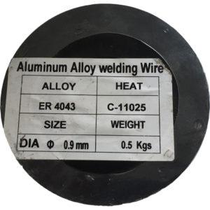 Aluminium Svejsetråd ER 4043 – 0,9mm – 0.5 kg