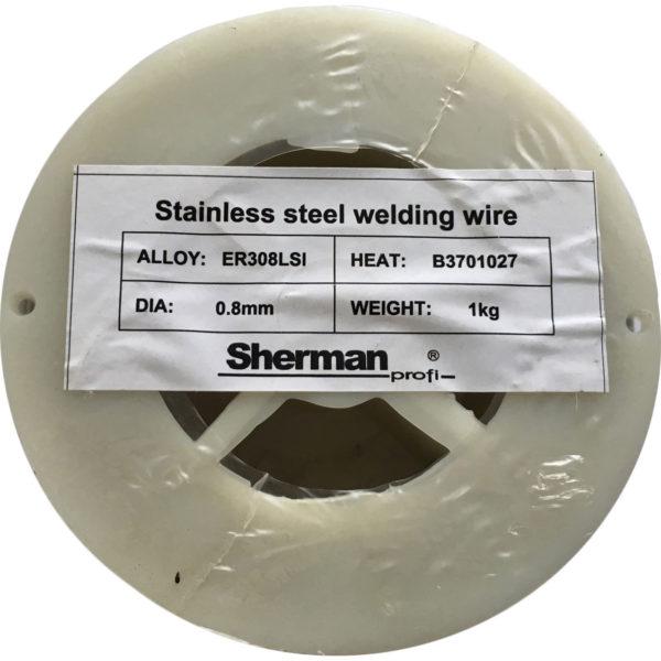 Rustfri Svejsetråd 308LSI – 0.8mm – 1kg