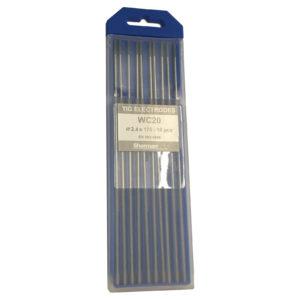 TIG Sherman Wolfram Elektroder – GRÅ – 175mm – Ø 2.4 – Pris pr stk