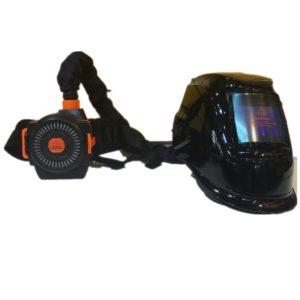 Svejsehjelm med respirator Nr. 2 – Ny model – kald 60465114 før bestilling.