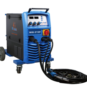Komplet sæt – MIG-315P Dobbelt Puls MIG/MAG Svejsemaskine – inkl. 300B Køler og WM600 Vandkølet slange – SUPER TILBUD