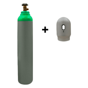 Blandgas – 8 liter flaske – 200 bar – Sælges som engangsflaske – Fragtfri