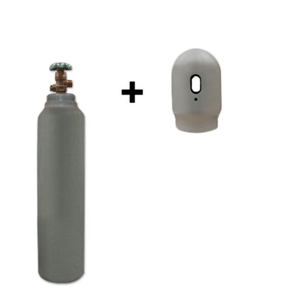 Co2 – 5 liter flaske – 150 bar – Sælges som engangsflaske – Fragtfri