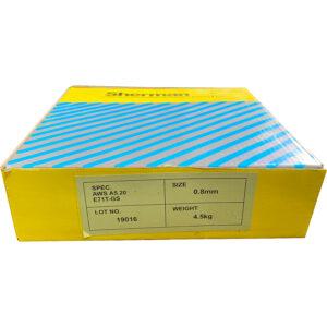 Kiswel gasfri svejsetråd – 0,8 mm – 4,5 kg  ( Flux tråd )