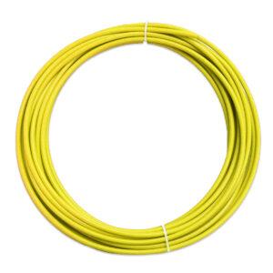 Teflon liner – Gul 1.2-1.6mm – Pris pr. meter