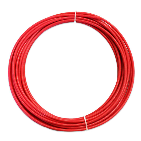Teflon liner – Rød 1.0-1.2mm – Pris pr. meter